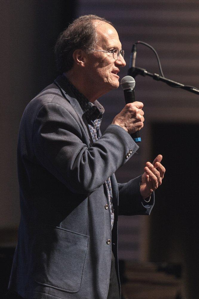 Composer Robert Kyr, Post-Concert Talk Moderator