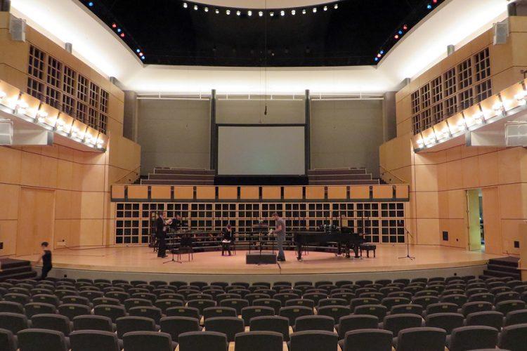 Recording Session Goshen, Sauder Concert Hall