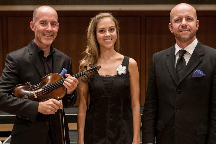 Soloists Stephen Redfield, Lauren Snouffer, James K. Bass