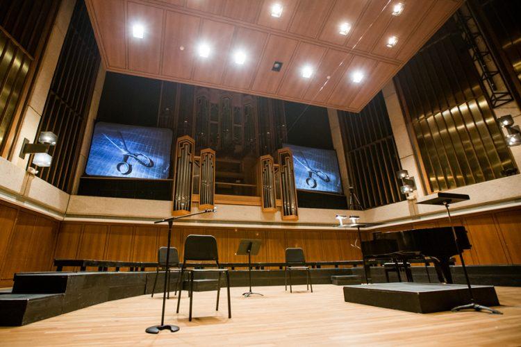 Austin Concert, Bates Recital Hall