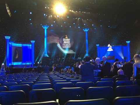 Inside the Nokia Theatre