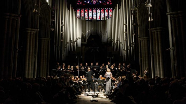 "Premiering ""<em>The Wound in the Water</em>"" at Nidaros Cathedral"