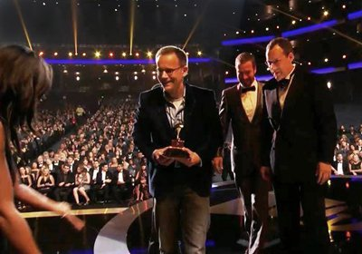Craig, Robert and Glenn on stage