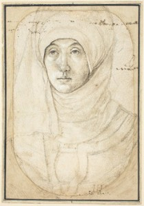 holbein portrait of a woman