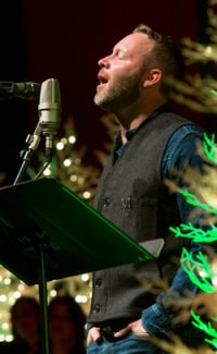 Matt Alber, Conspirare Christmas 2015 (photo James Goulden)