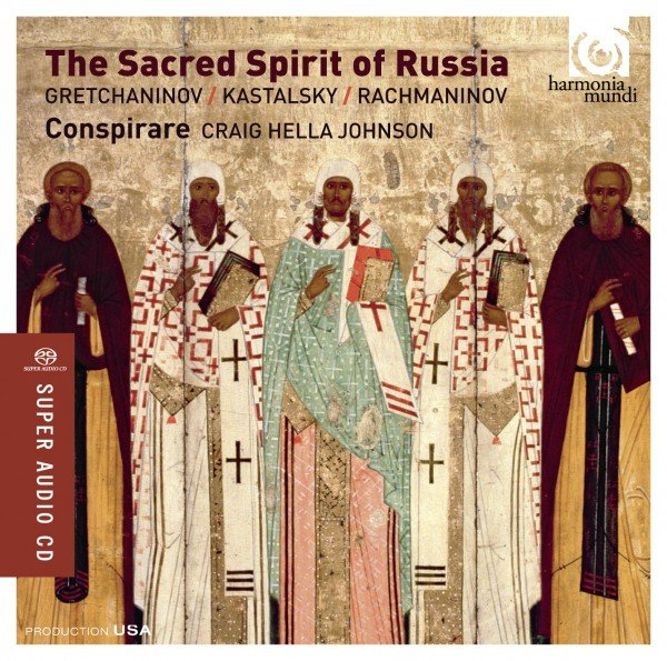 The Sacred Spirit of Russia CD cover