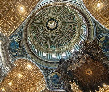 Detail: Saint Peter's Basilica
